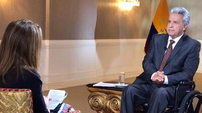 "Lenín Moreno: ""Assange lied to obtain Ecuadoran nationality"""