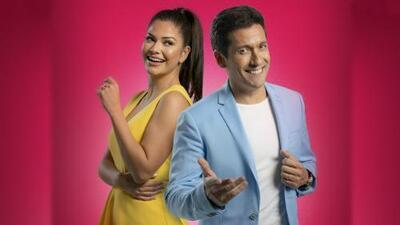 Ana Patricia y Rafael Araneda presentan el nuevo reality 'Enamorándonos'