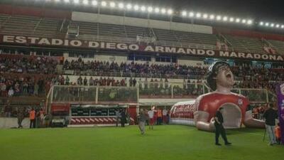 El curioso homenaje de Argentinos Juniors a Diego Armando Maradona