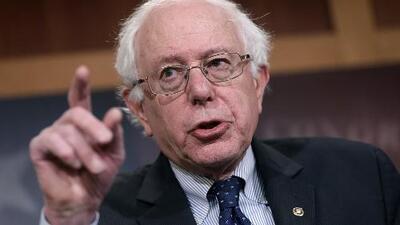 """Bernie Sanders llama """"racista"""" a Trump y rechaza una intervención militar de EEUU en Venezuela"""