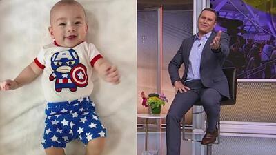 El hijo de Alan Tacher ya es un gran fanático de 'Avengers' (y así se ve vestido de Capitán América)