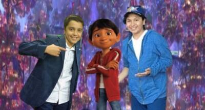 Así transformó 'Coco' la vida (y los sueños) de los dos niños que interpretaron a Miguel en la película