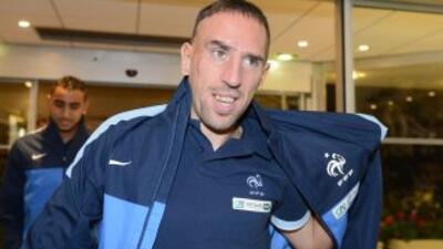 Ribéry entra en lista definitiva de Francia, aunque sigue siendo duda para Brasil