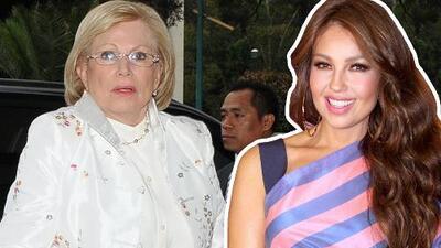 """""""Voy a llegar rodando a Premio Lo Nuestro"""": Thalía no pudo resistirse a la calórica comida que amaba su mamá"""