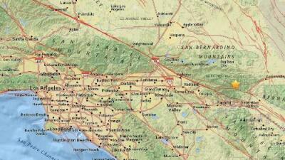 Temblor de magnitud 3.2 estremeció la zona de Morongo Valley en California