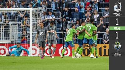 Al más puro estilo del legendario Roberto Carlos, Cristian Roldan rescata empate de Seattle