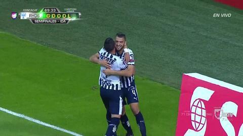 ¡GOOOL! Nicolás Sánchez anota para Monterrey