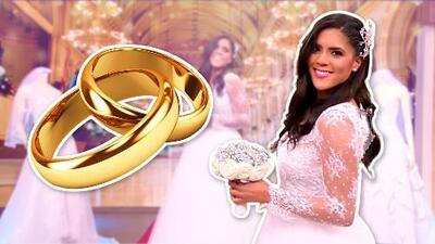 Así luce Francisca Lachapel de  novia (toma nota Meghan) y ya todos esperan que el novio le pida la mano