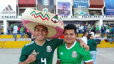 El colorido de la fiesta del 'Tri' y 'La Roja' previo al amistoso de la fecha FIFA
