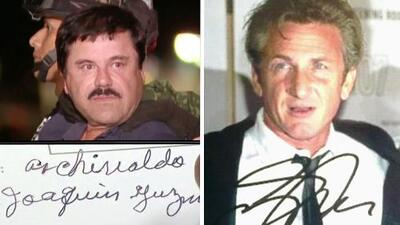 ¿Cómo son sexualmente? Las letras del 'Chapo' y Sean Penn los delatan
