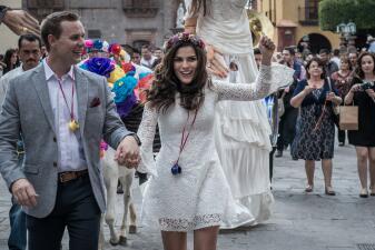 La mágica boda de Karina Banda