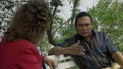 La entrevista de María Elena Salinas a Manuel Noriega