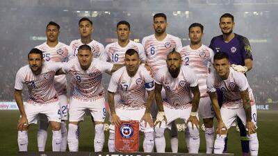 Chile dio a conocer lista para Copa América con cinco 'mexicanos'