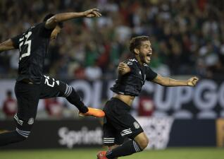 En fotos: Jonathan Dos Santos se apunta un gol de oro y que vale el título