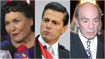 Mira por qué Carmen Salinas habló con el presidente Peña Nieto en favor de 'El loco' Valdés