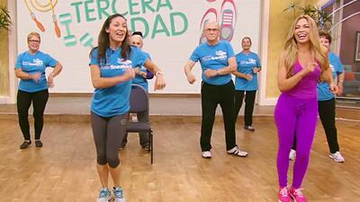 Claudia Molina descubrió esta maravillosa rutina de ejercicios para la tercera edad