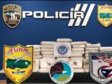 Policía incauta 100 bloques de cocaína valorados en más de 2 millones de dólares en San Juan
