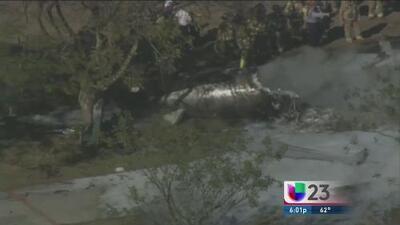 Mueren 4 personas en accidente de avión en Miami Dade