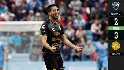 Dorados acaricia la Liguilla en el Ascenso MX con triunfo sobre Tampico