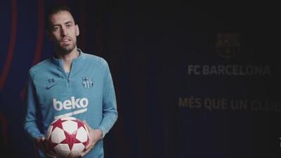 Recuerdos milimétricos: Sergio Busquets revivió sus enfrentamientos con el Manchester United