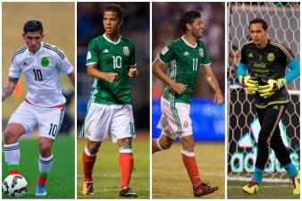 Así sería el 11 titular de México ante Bosnia