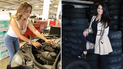 La Bronca y Carla Medrano: dos mujeres que no le tienen miedo a la mecánica