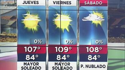 Pronóstico: jueves caluroso y mayormente soleado en Phoenix