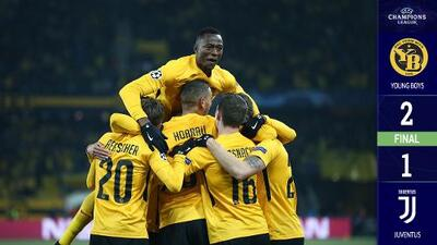 Sorpresa en Berna: Young Boys le ganó a la Juventus que avanzó como líder de su grupo