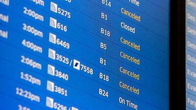 118 vuelos han sido cancelados en Chicago por lluvia y tormentas