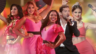 Bailando como nunca David Bisbal y Greeicy Rendón abren la cuarta gala de Nuestra Belleza Latina