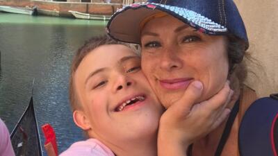 Leticia Calderón pasó un susto porque su hijo Luciano fue hospitalizado