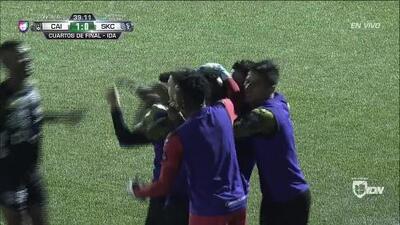 ¡GOOOL! Romeesh Ivey anota para Independiente La Chorrera