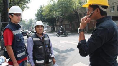 El terremoto en los ojos de los arquitectos e ingenieros que están recorriendo Ciudad de México