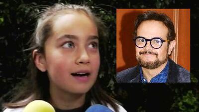 La hija de Aleks Syntek se siente tranquila en su debut en el cine gracias a los consejos de su papá