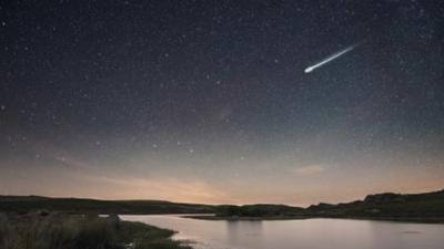 Inicia este martes en la noche una lluvia de meteoritos