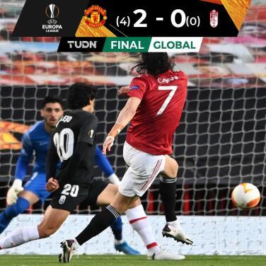 Con golazo de Cavani, Manchester United selló el pase a Semifinales