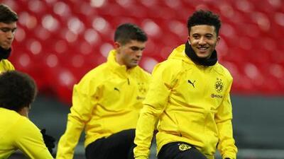 Jadon Sancho retrasó vuelo del Borussia Dortmund