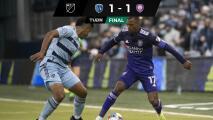Pulido regresó con Sporting KC, pero Nani 'robó' empate para Orlando City