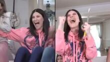 Máxima euforia: así celebró Laura Pausini su nominación a los premios Óscar 2021