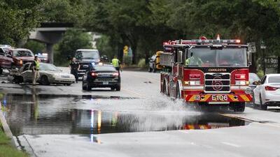 Reportan más de 80,000 hogares sin electricidad en Carolina del Sur por la cercanía del huracán Dorian