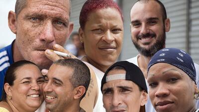 Los rostros de la última oleada de cubanos a EEUU