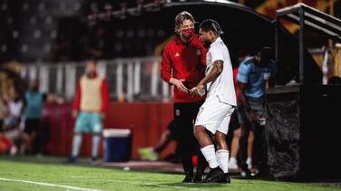 ¡Está de regreso! Josef Martínez volvió a disputar un partido oficial tras un año