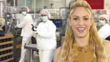 A Shakira le huele bien la transformación de sus socios durante la pandemia del coronavirus