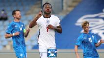 """Raheem Sterling tras el triunfo de Inglaterra ante Islandia: """"Tuvimos un poco de suerte"""""""