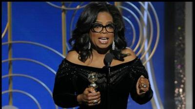El discurso de Oprah en los Globos de Oro: completo y en español