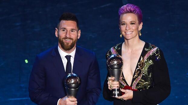 """Megan Rapinoe y el equal pay: """"No pedimos el mismo salario de Messi"""""""