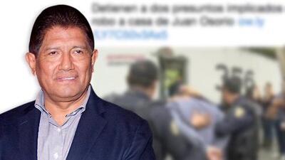 Arrestan a presuntos implicados en el robo y golpiza del que fue víctima el productor Juan Osorio