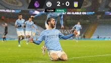 Manchester City ganó y está a la caza del líder Manchester United