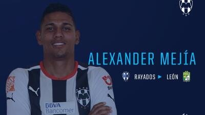 Alexander Mejía regresa a México con León