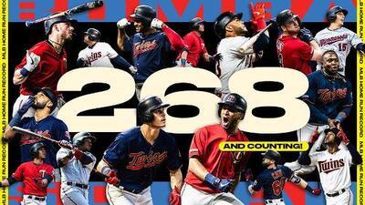 Los Twins rompen récord de más home runs en una temporada